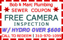 El Segundo Sewer Repair Contractor
